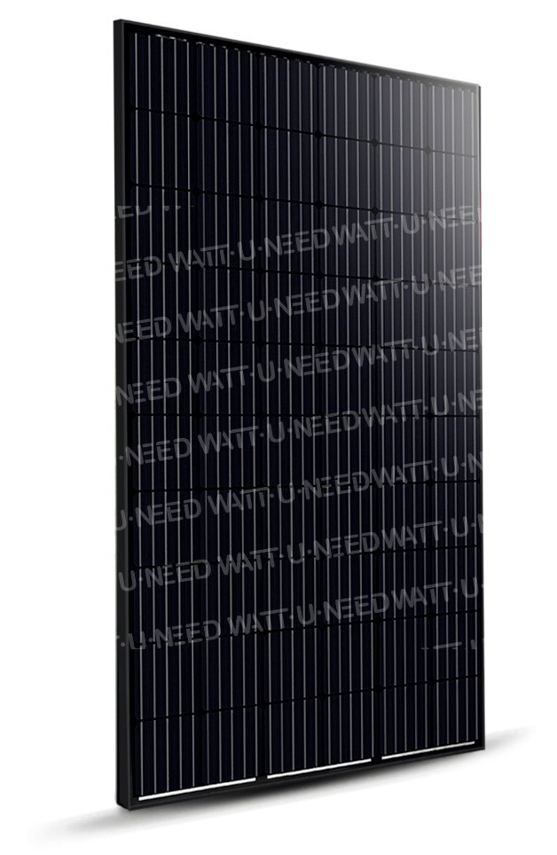 Panneau solaire JNL SOLAR 300Wc Monocristallin Full Black (ce produit est susceptible de changer en fonction de l'avancée technologie du produit ainsi que par votre sélection de panneau)