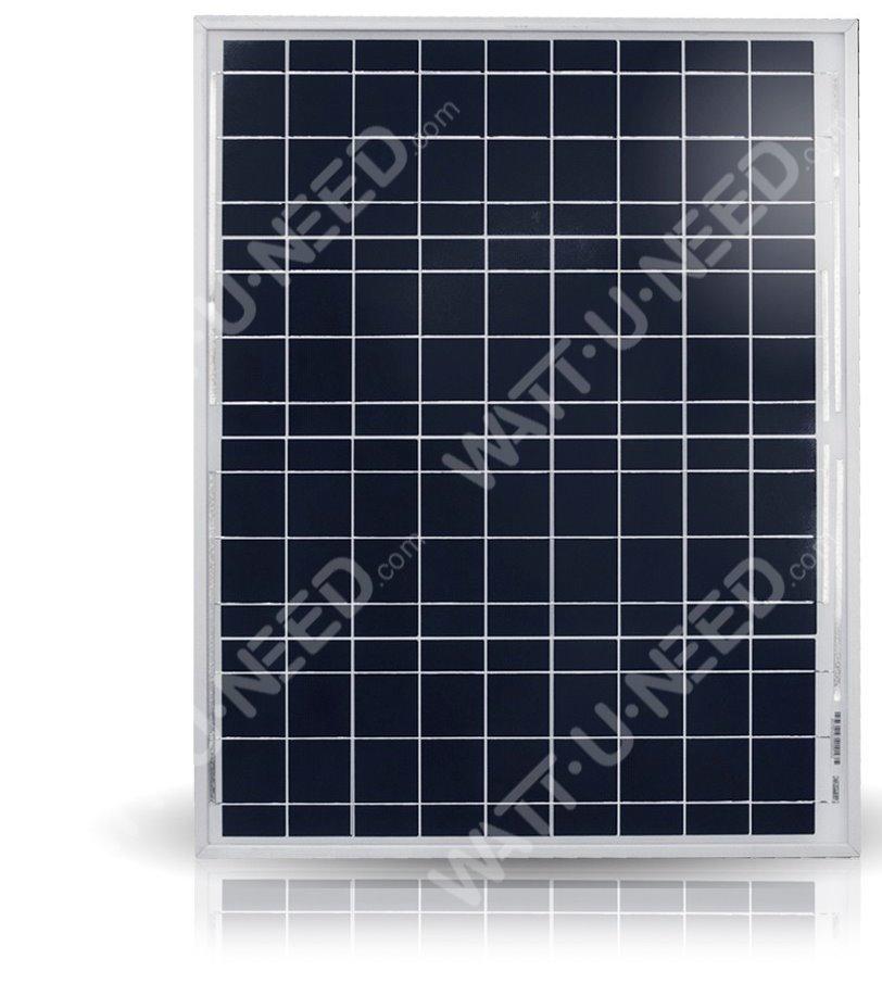 Panneau solaire polycristallin de 50Wc