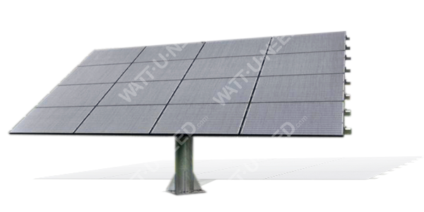 Follower photovoltaic - Solar Tracker 2 axes 16 panels