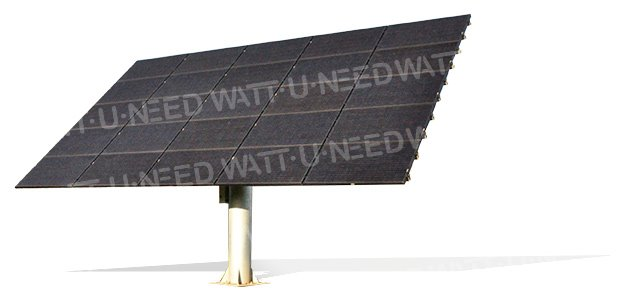 Suiveur Photovoltaïque 2 axes 25 panneaux