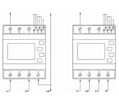 Meter Solax single-phase and three-phase