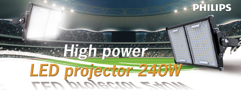 High power LED projector 240W