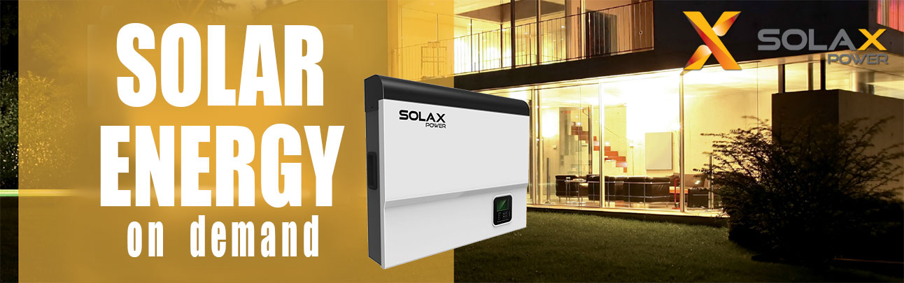 Hybrid converter Solax 3000