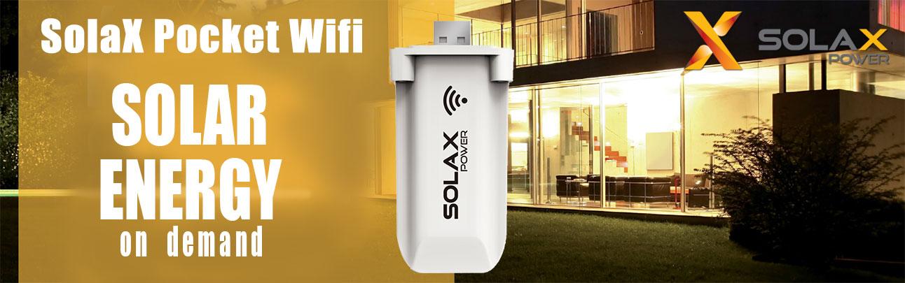 Kit Pocket Wifi SolaX Power