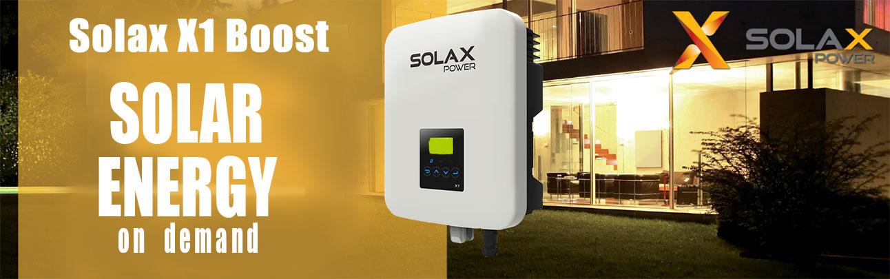 Solax X1 Boost