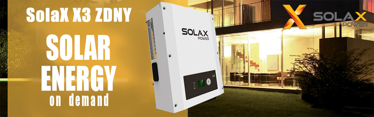 Three-phase Solar Inverter SolaX X3 ZDNY-TL10000