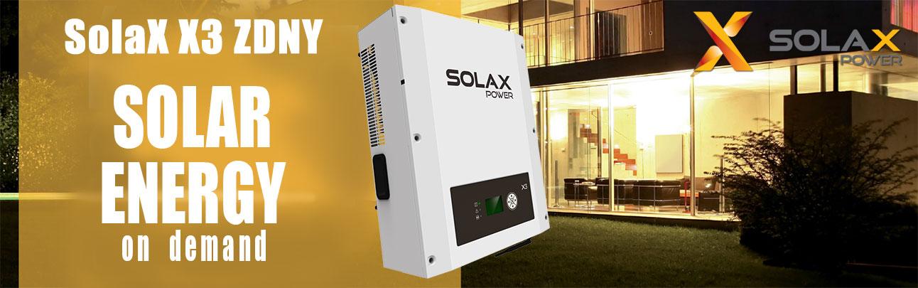 Solax X3 ZDNY