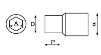 Scheme socket OUTILAC