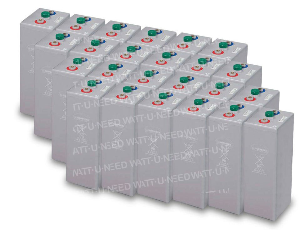 Park 72 KWh Batteries OPzV 48V