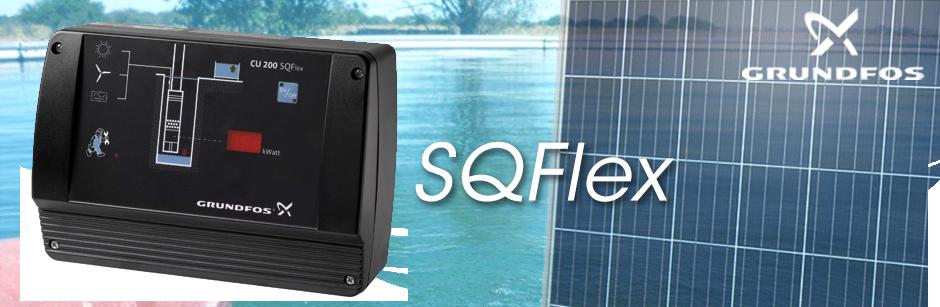 Boîtier de contrôle CU 200 pour pompe solaire SQFlex