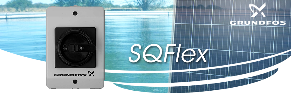 Switch box IO50 for SQFlex solar pump