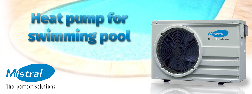 Heat pump for swimming pool SWI Mistral