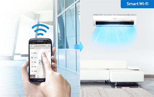 Control your air conditioning systems remotely