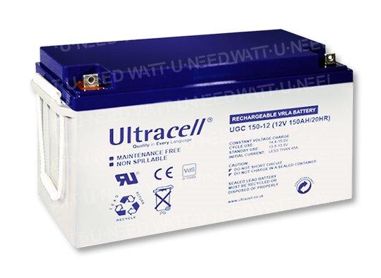 Ultracel GEL Battery 12V 150Ah