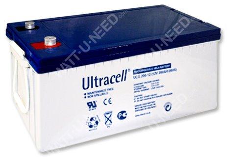 Batterie solaire GEL Ultracell 12V 200Ah