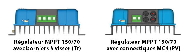 MPPT Bue solar 150/70 avec ou sans MC4