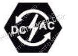Icone: Indique que le circuit inverseur CC / CA fonctionne