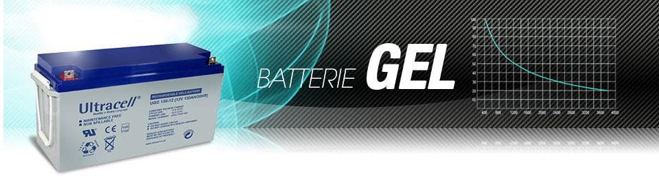 Batterie gel 150AH