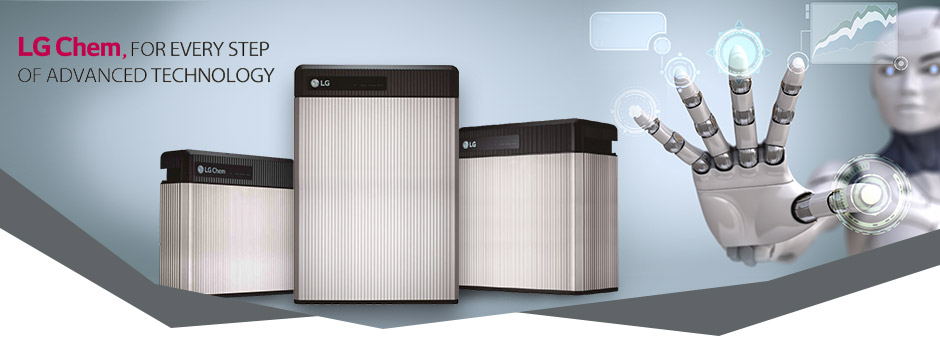 Background Battery LG RESU