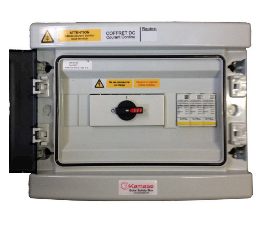 DC Cut-out and protection box 40A