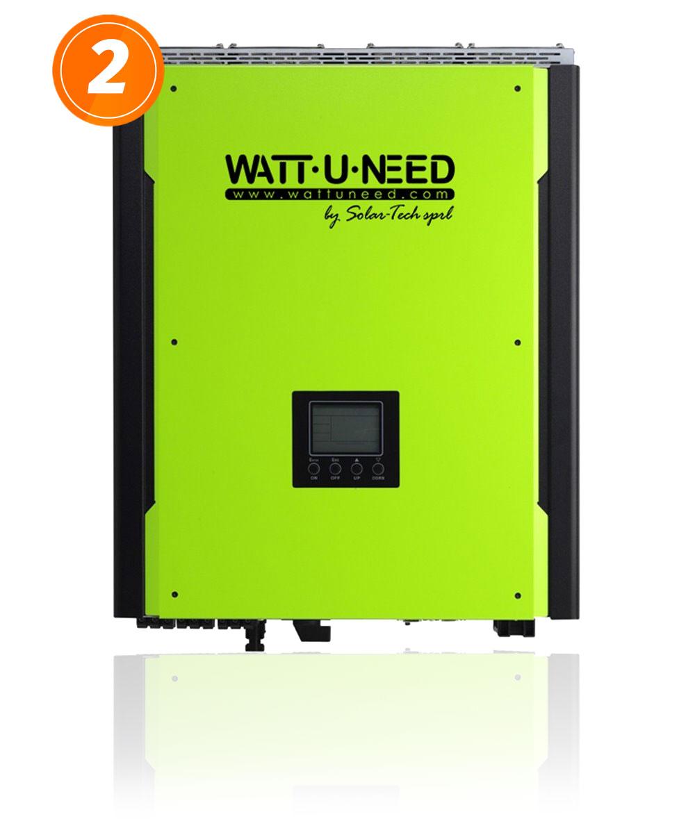 Onduleur hybride monophasé MultiSolar 3 kVA