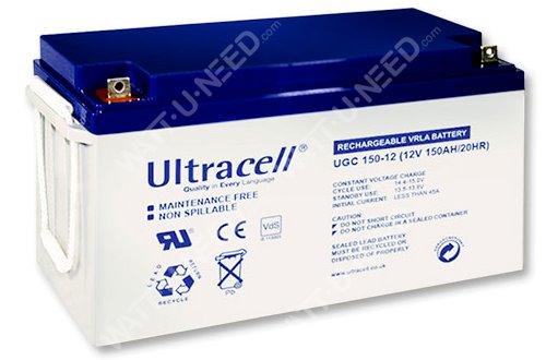 GEL Ultracell 12V 150Ah battery
