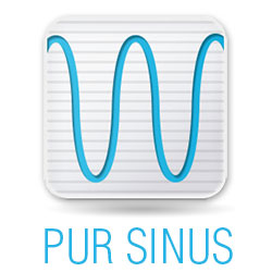 Pure sine inverter icon