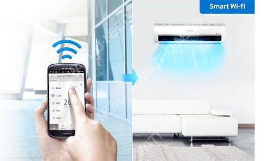 Contrôlez vos systèmes de climatisation à distance