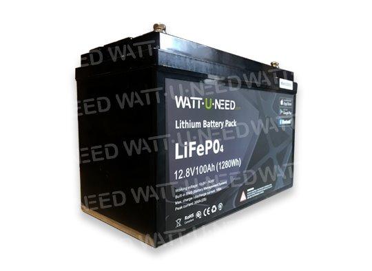 Wattuneed Lithium Battery 12.8V 100Ah