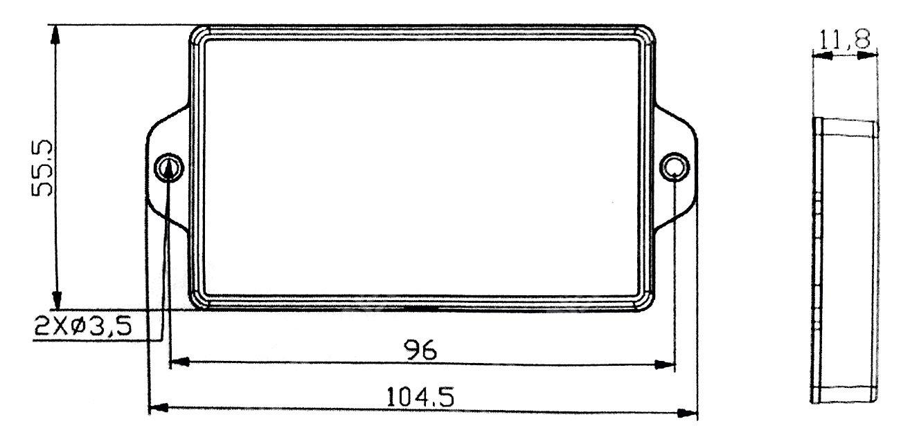 Dimensions SRNE RM-6