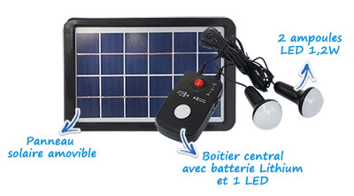 Kit solaire complet