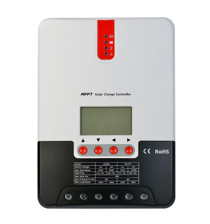 Régulateur solaire MPPT 20 A SRNE