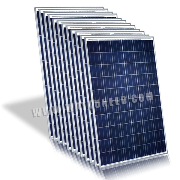 panneau polycristallin Solarworld 250Wc