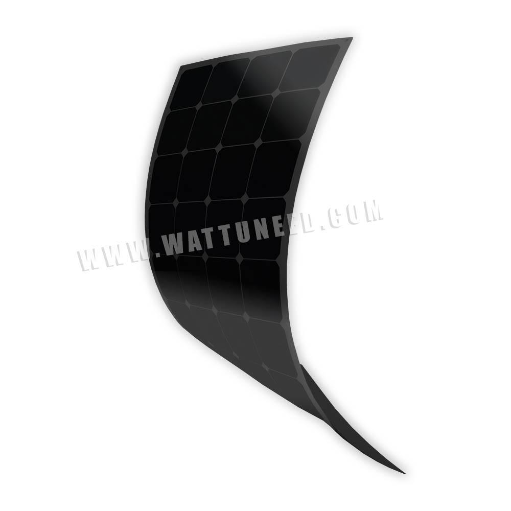 MX FLEX Full Black 100Wp Flexible Solar Panels