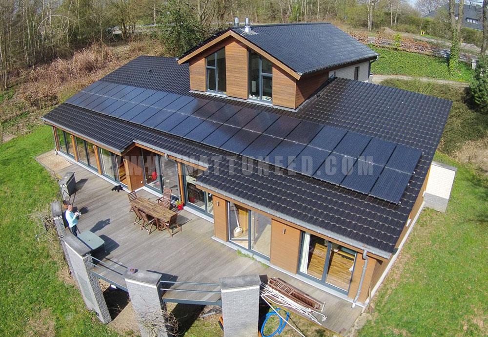 Réalisation panneau solaire benq