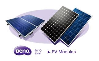 BenQ Solar Brand and module efficency