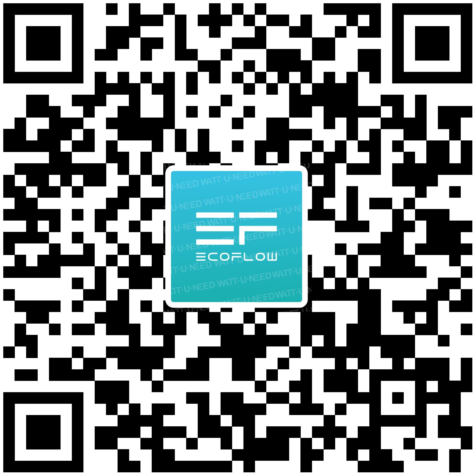 QR CODE EcoFlow app