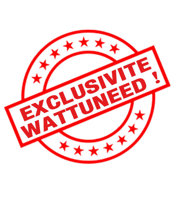 Exclusivité Wattuneed