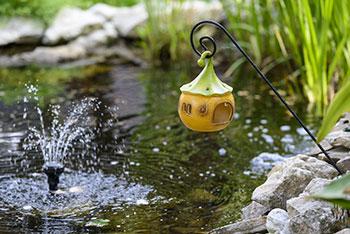 Pompe à eau brushless utilisée poru entretien étang