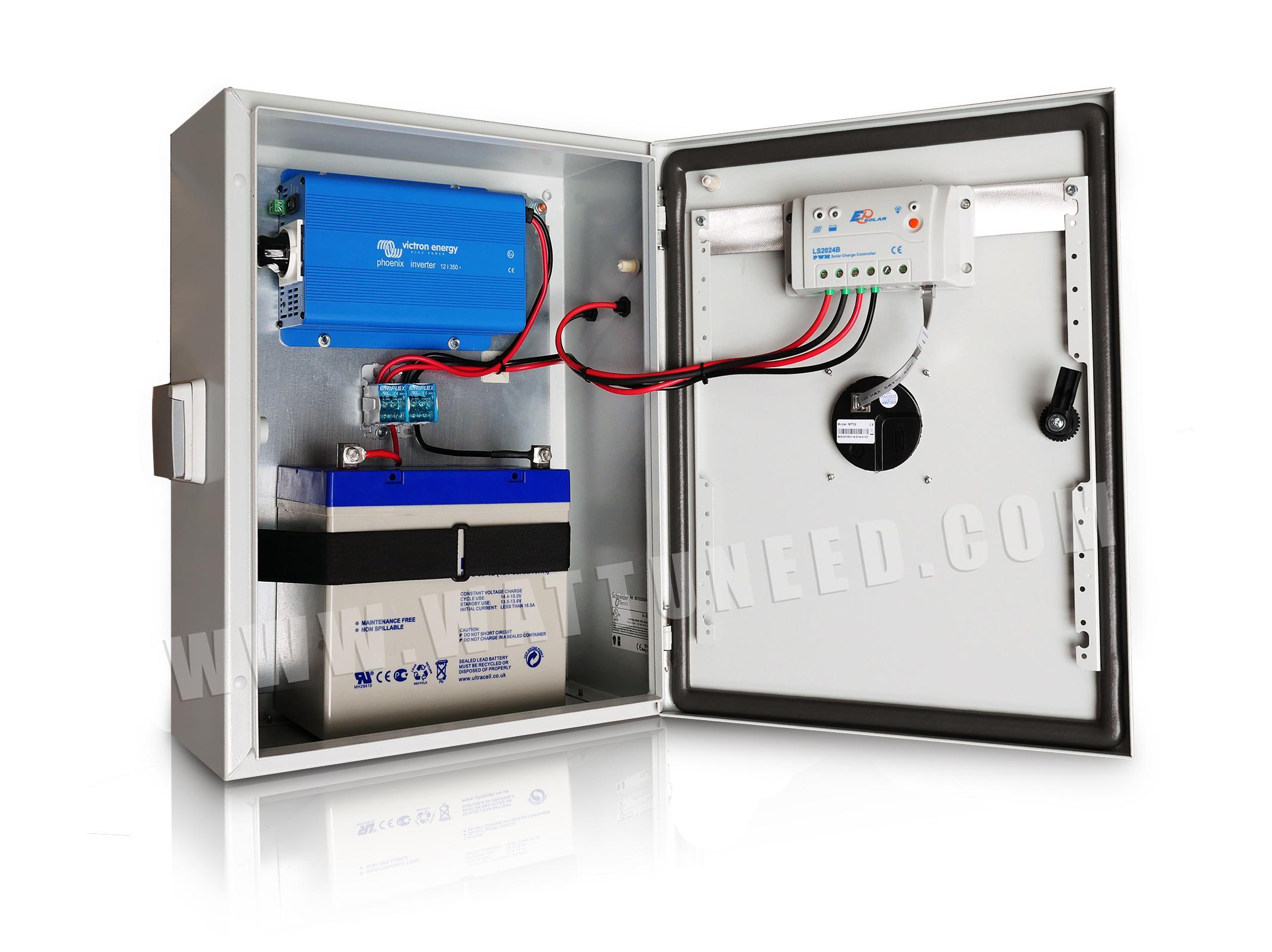 Powerbox Coffret 233 Tanche Et Pr 233 C 226 Bl 233 Pour Une 233 Nergie Mobile Et Autonome