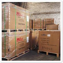 photo colis stock
