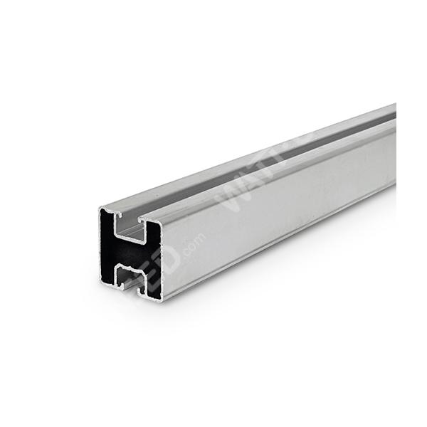 Aluminium rail 40x40 for fixing solar panels (1M)