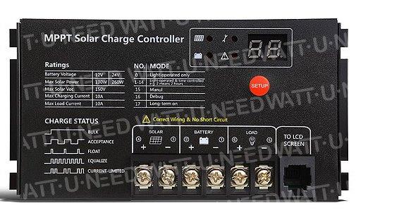 Solar Controller MPPT 10A SRNE