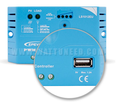 pwm 10A avec sortie USB