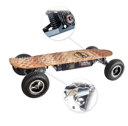 Skate board solaire Cross V800
