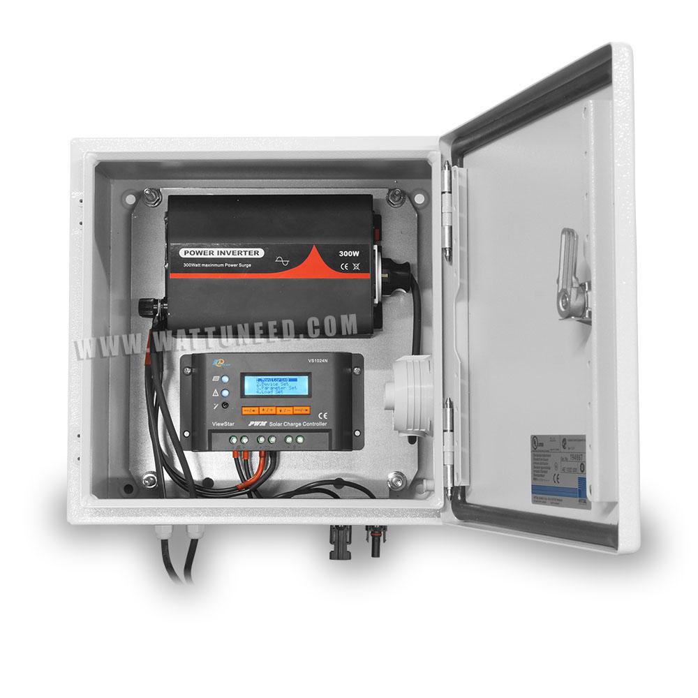coffret solaire 10A 300W