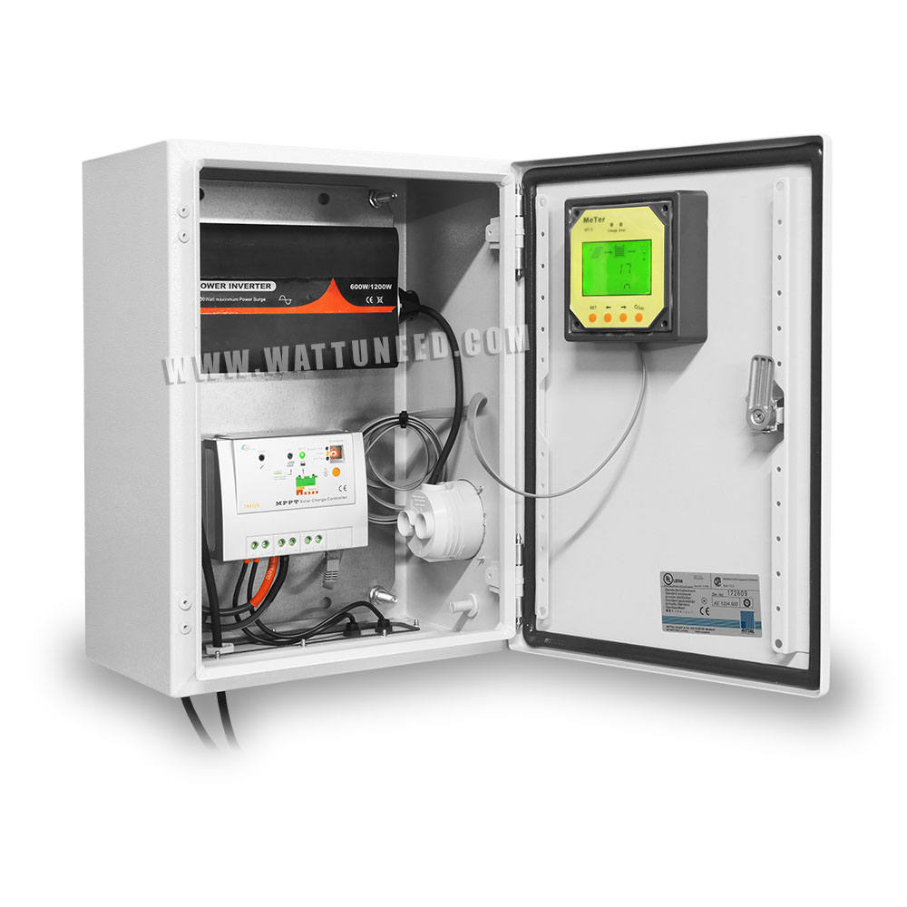 Solar box 600w