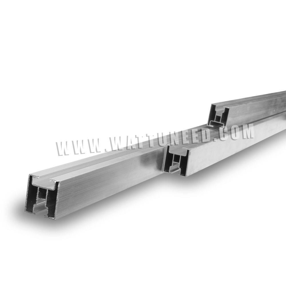 rail de fixation des panneaux solaires