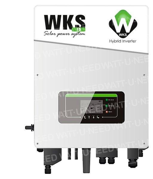 Onduleur Hybride 5kW Injection Réseau - Stockage WKS I5