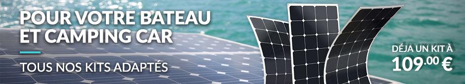 Kit solaire bateau et camping car